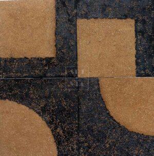 Арт-объект. Картина. Земляной квадрат II