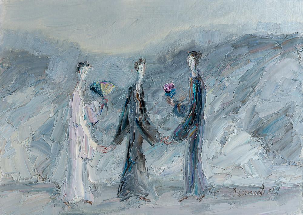 Картина. Интересный сюжет. № 14. Вера. Надежда. Любовь