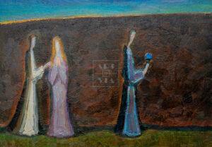 Картина. Интересный сюжет. № 18. Вера. Надежда. Любовь