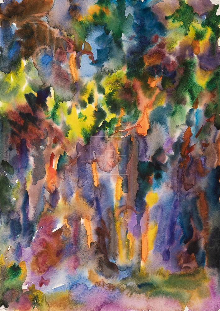 Картина. Пейзаж. № 27. Абстрактный пейзаж