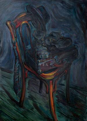 Картина. Натюрморт со стулом