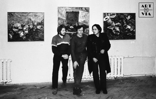 Выставка «Живопись 87» в в объединении «Вернисаж». 1987 г.