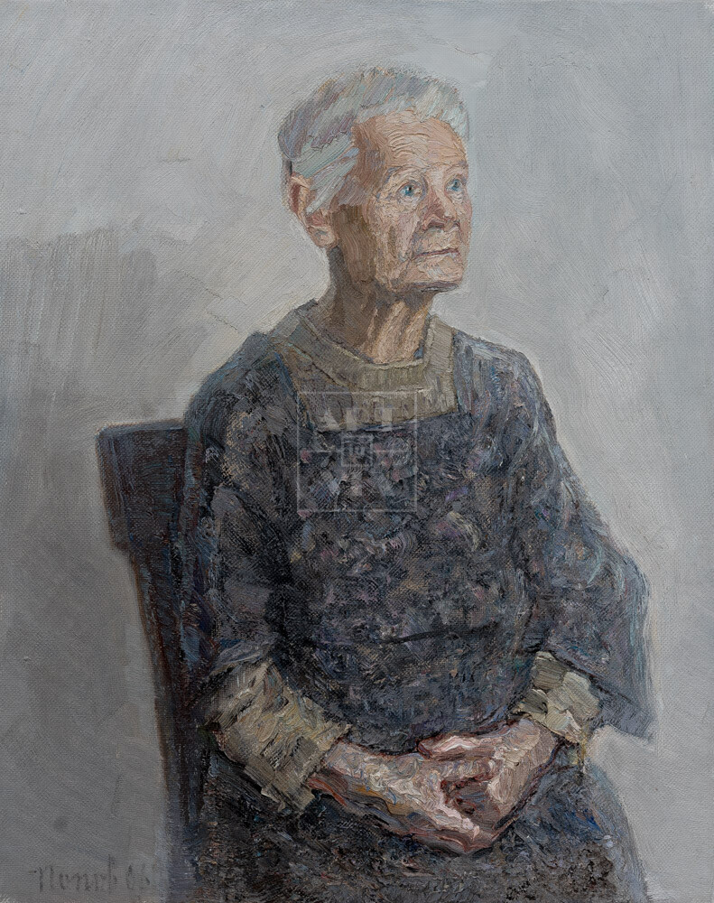 Картина. № 27. Портрет И. И. Витман