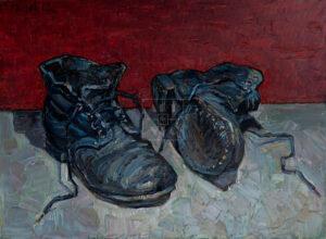 Картина. № 1. Натюрморт с ботинками