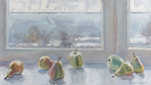 Картина. Натюрморт с фруктами