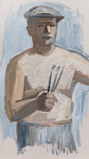 Картина. № 6. Автопортрет