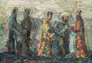 Картина. Восточный базар