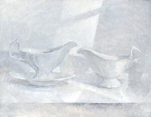 Картина. Натюрморт с соусницей