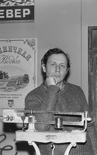 Александр Борисович Попов Выставка «Улица» в ЦДХ 1989 г.