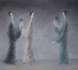 Картины. Техника пастель в каталоге галереи «ARTINVIA»