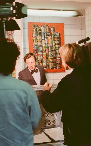 Александр Борисович Попов Выставка «Гастроном» 1990 г.