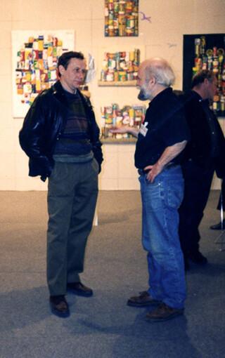 Александр Борисович Попов Выставка в Гранд Пале в Париже 1992 г.