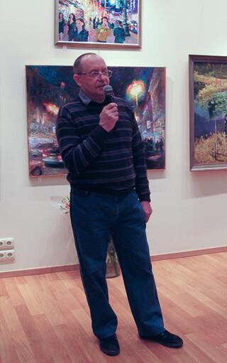 Александр Борисович Попов. Выставка «Тверская 0ч.– 30м.» 2009 г.