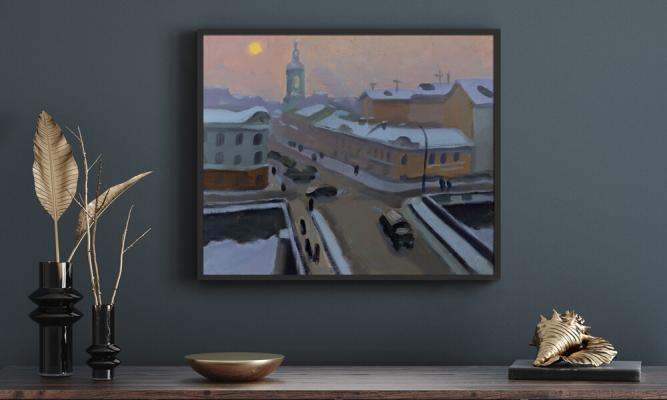 Об искусстве. Статья. Улицы старой Москвы