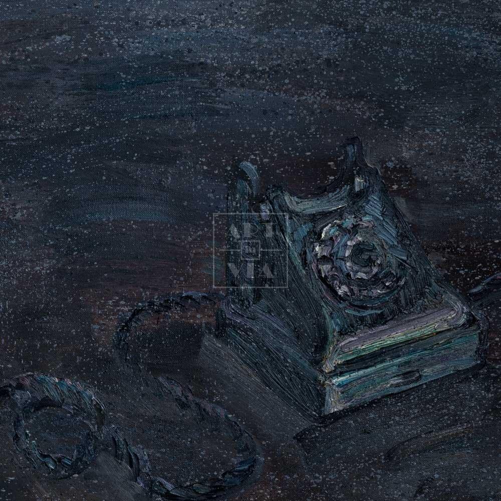 Фрагмент картины 3/3. Пейзаж. Позвони