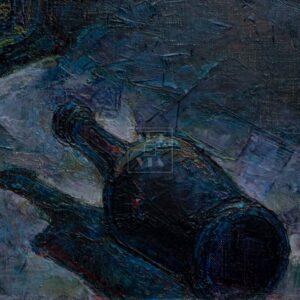 Фрагмент картины 2/3. Ванитас. Рулетка смерти