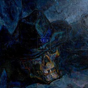 Фрагмент картины 3/3. Ванитас. Рулетка смерти