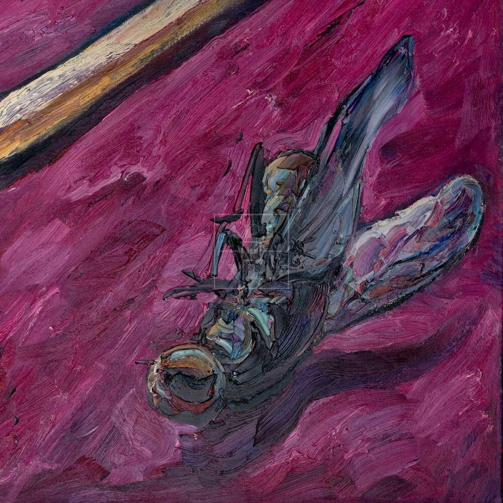 Фрагмент картины 1/3. Натюрморт. Бедняжка представилась