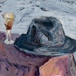Фрагмент картины 1/3. Натюрморт. Шляпа В. П. Цельтнера