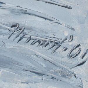 Фрагмент картины 2/3. Натюрморт. Шляпа В. П. Цельтнера