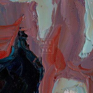 Фрагмент картины 2/3. № 1. Автопортрет