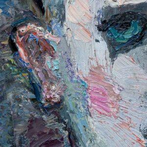 Фрагмент картины 2/3. Акробат