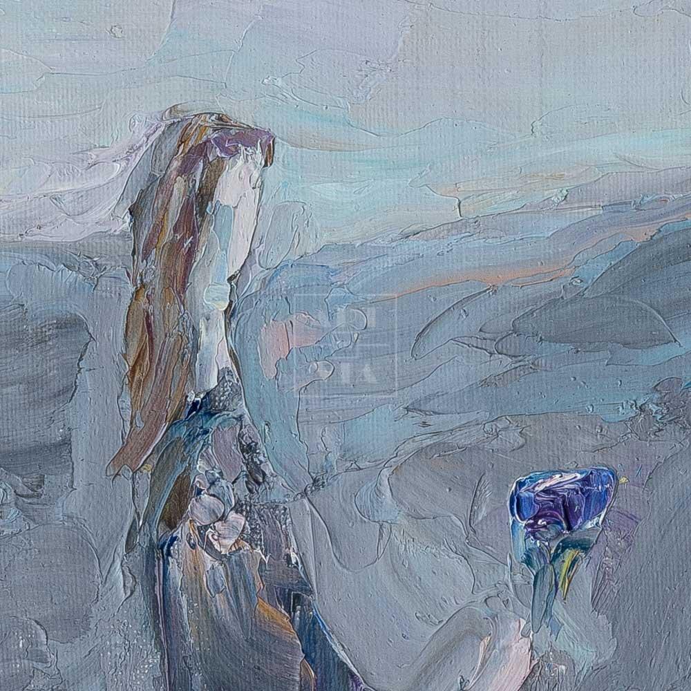 Фрагмент картины 2/3. Интересный сюжет. № 3. Вера. Надежда. Любовь