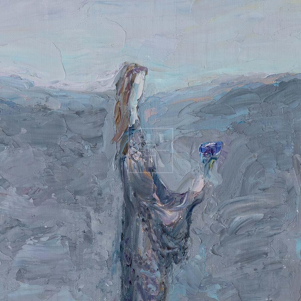 Фрагмент картины 3/3. Интересный сюжет. № 3. Вера. Надежда. Любовь