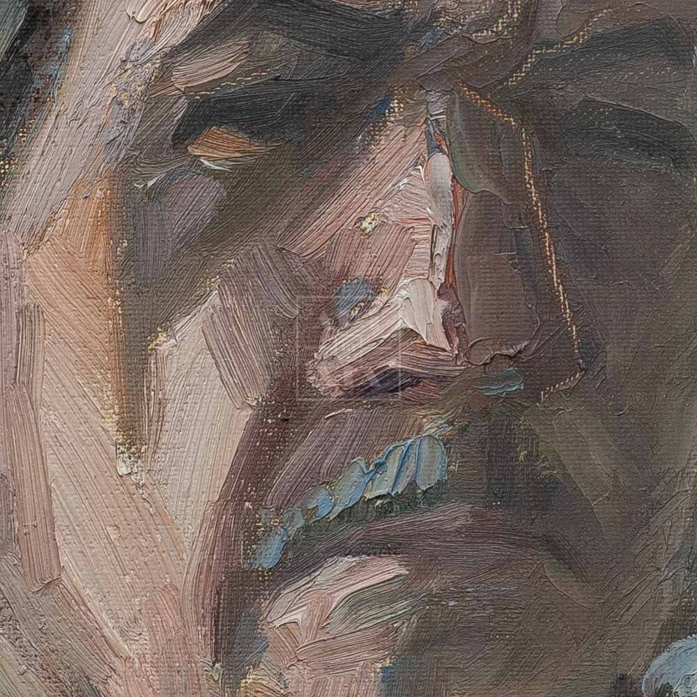 Фрагмент картины 2/3. № 4. Автопортрет