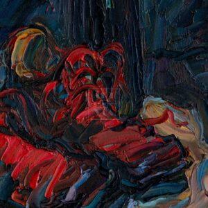 Фрагмент картины 2/3. Натюрморт. В Испании без перемен
