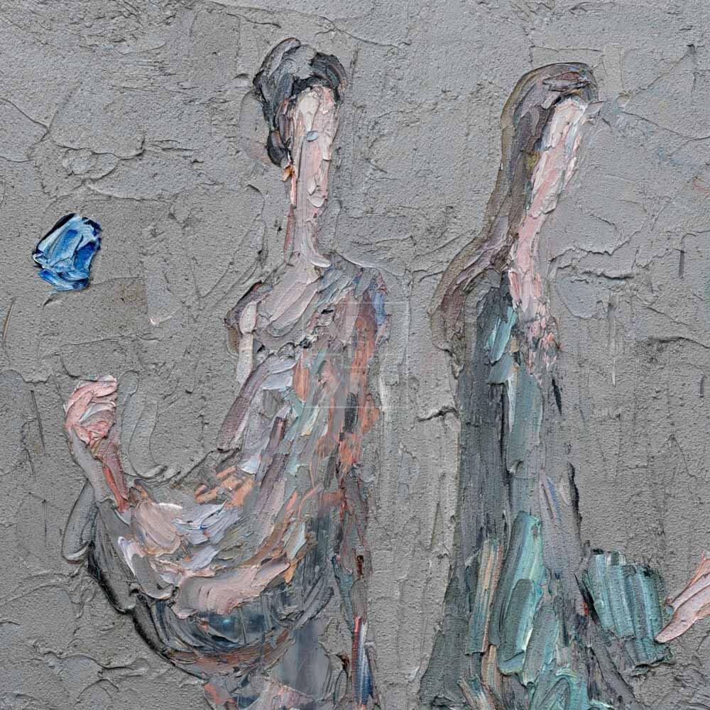 Фрагмент картины 3/3. Интересный сюжет. № 6. Вера. Надежда. Любовь