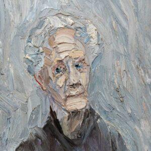 Фрагмент картины 1/3. № 21. Портрет И. И. Витман