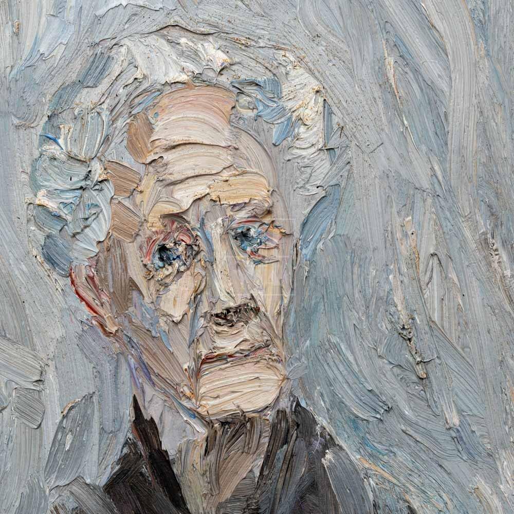 Фрагмент картины 3/3. № 21. Портрет И. И. Витман