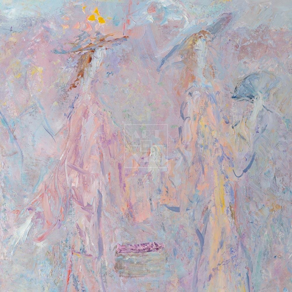 Фрагмент картины 3/3. Интересный сюжет. № 10. Вера. Надежда. Любовь