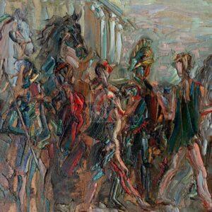 Фрагмент картины 1/3. Театр древней Греции