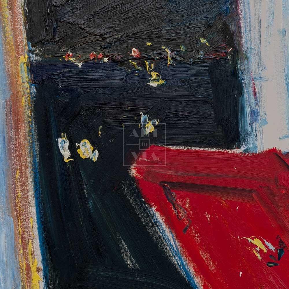 Фрагмент картины 3/3. Натюрморт. Посвящается Надежде