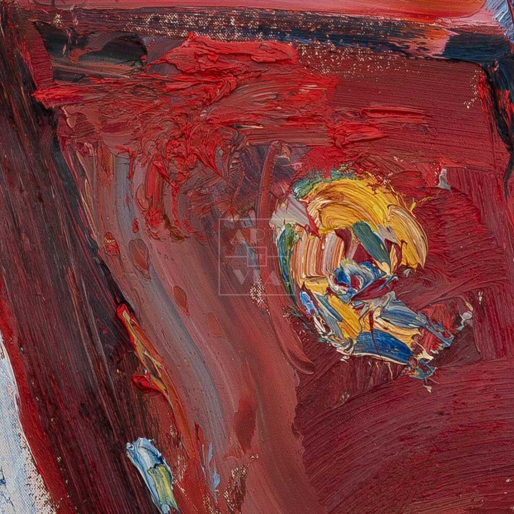 Фрагмент картины 2/3. Натюрморт. Посвящается маме