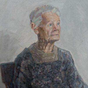 Фрагмент картины 1/3. № 27. Портрет И. И. Витман