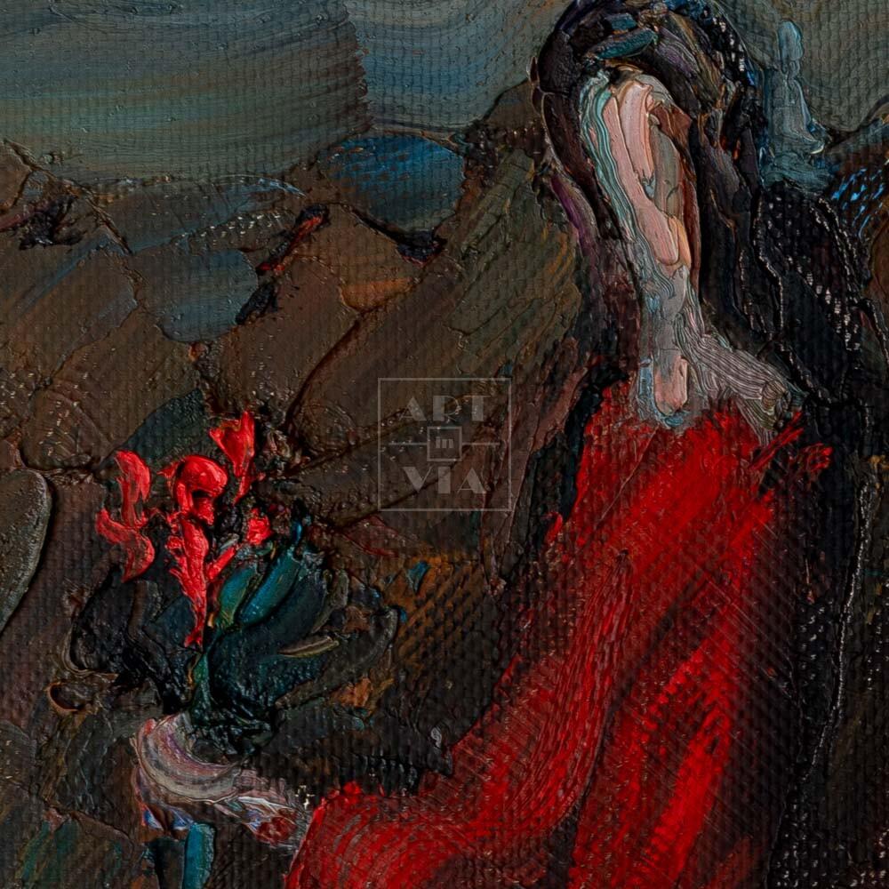 Фрагмент картины 2/3. Интересный сюжет. № 15. Вера. Надежда. Любовь