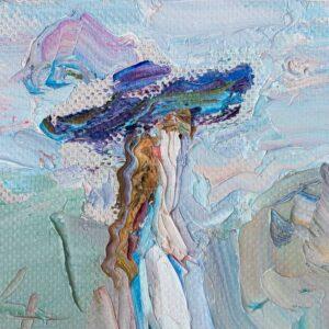 Фрагмент картины 2/3. Интересный сюжет. № 16. Вера. Надежда. Любовь