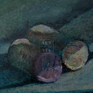 Фрагмент картины 3/3. Натюрморт. Оловянный солдатик