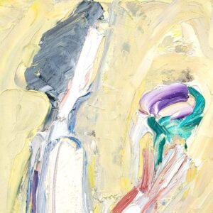 Фрагмент картины 2/3. Интересный сюжет. № 24. Вера. Надежда. Любовь