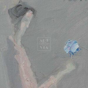 Фрагмент картины 2/3. Интересный сюжет. № 28. Вера. Надежда. Любовь