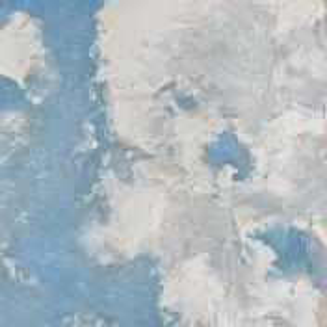 Фрагмент картины 1/3. Пейзаж. Облака. 23 мая 2006