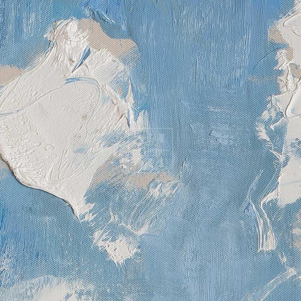 Фрагмент картины 2/3. Пейзаж. Облака. 23 мая 2006