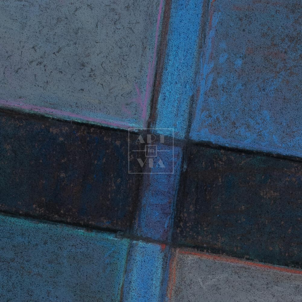 Фрагмент картины 2/3. № 5. Абстракция
