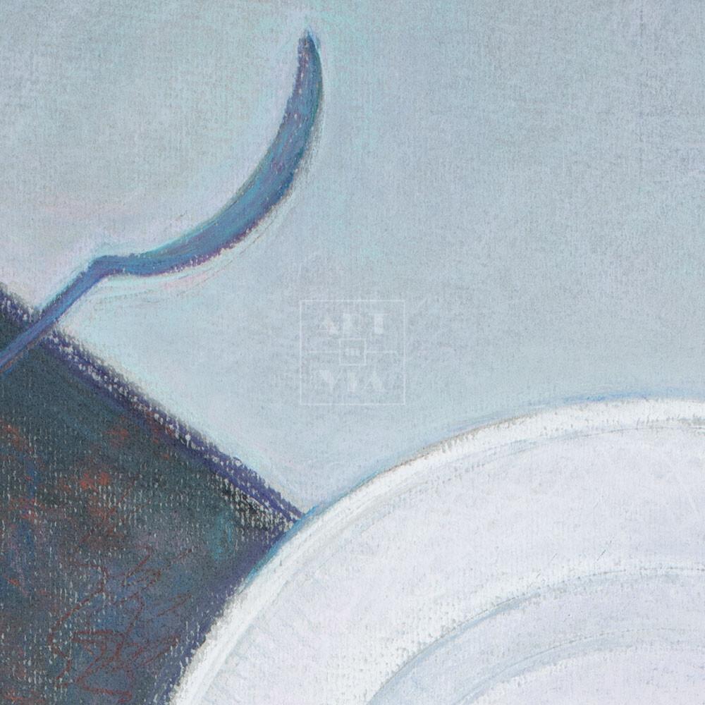Фрагмент картины 2/3. № 6. Супревматизм