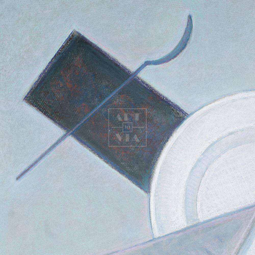 Фрагмент картины 3/3. № 6. Супревматизм