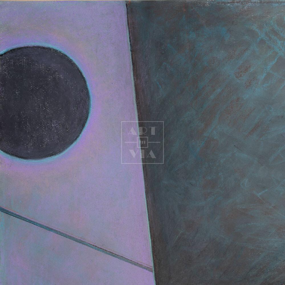 Фрагмент картины 3/3. № 12. Абстракция