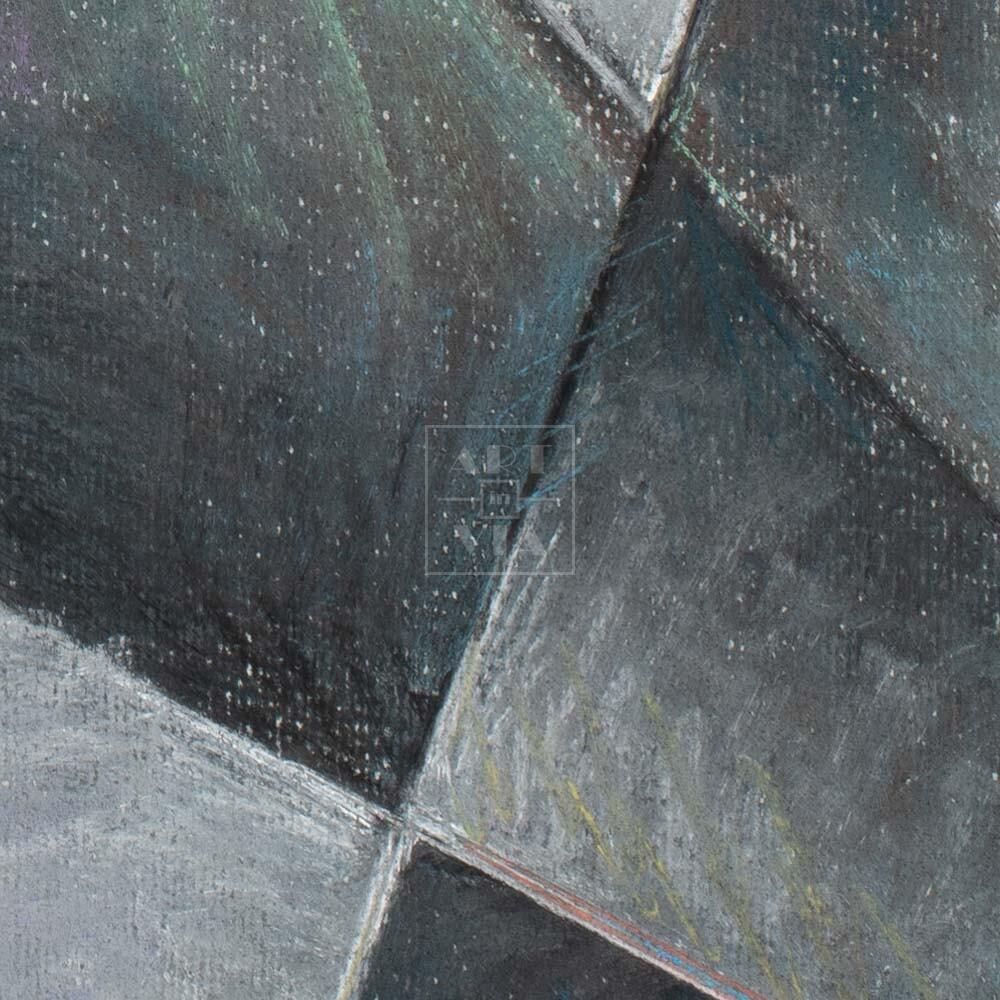 Фрагмент картины 2/3. № 13. Абстракция